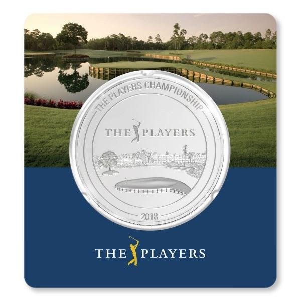 pga tour players championship silver card back