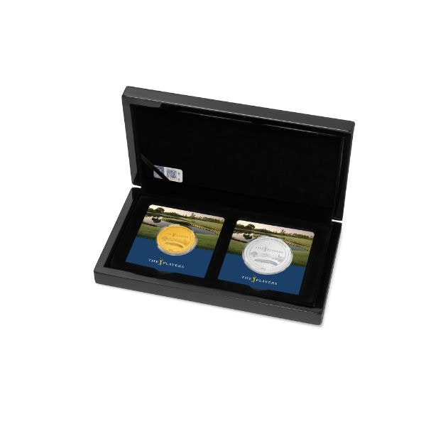 pga tour players championship gold silver box