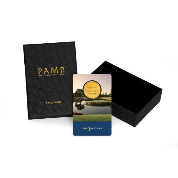 pga tour players championship gold card and box