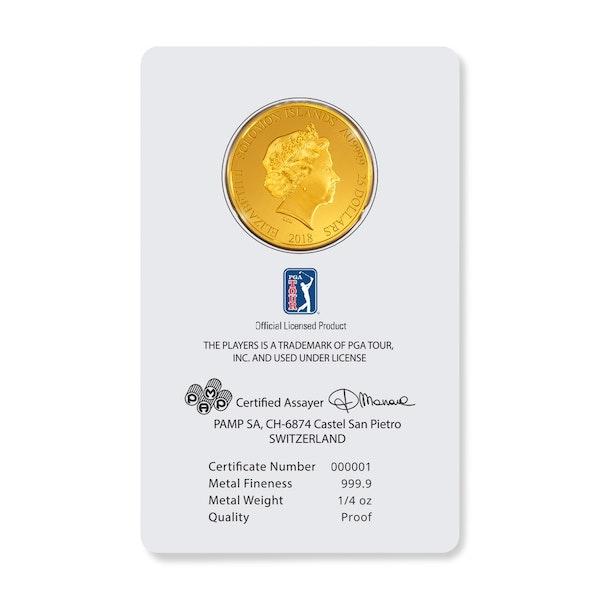 pga tour players championship gold card back