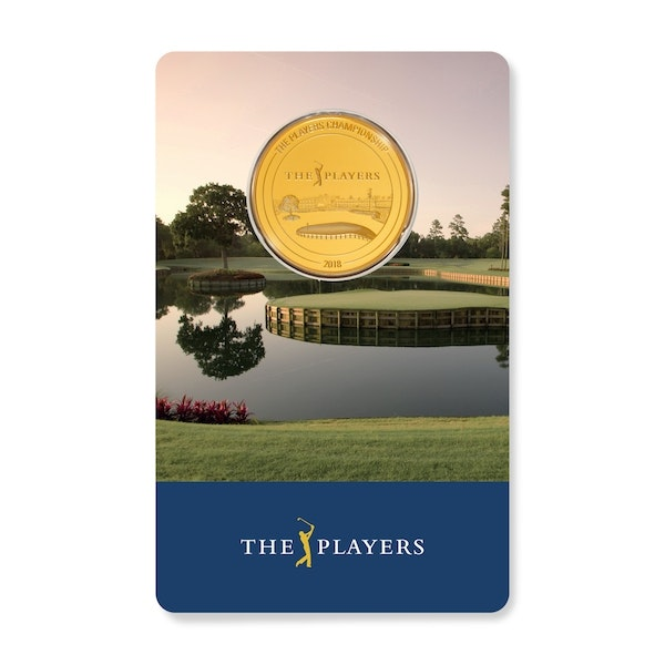 pga tour players championship gold coin front