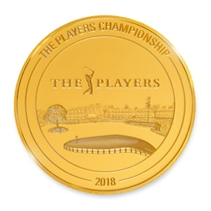 PLAYERS CHAMPIONSHIP 1/4 oz Gold Coin