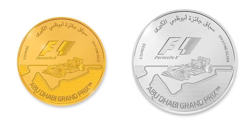 5 oz F1® Gold & Silver Coins