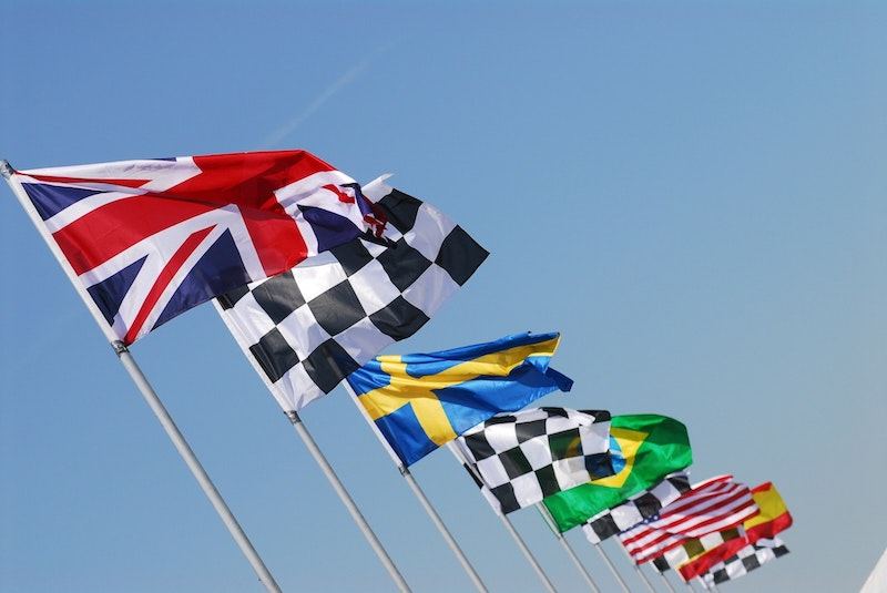 Country and Race flags