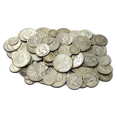90% Silver US Coins ($250 Face Value)