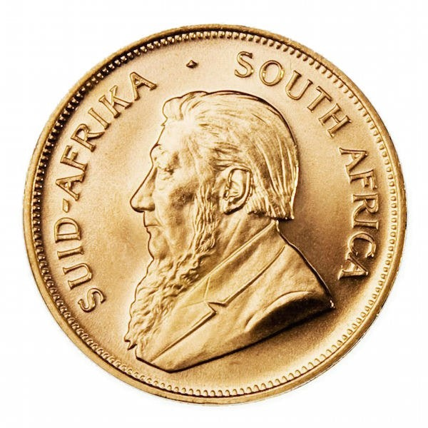 African Gold Coin
