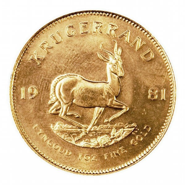 Gold African Coin