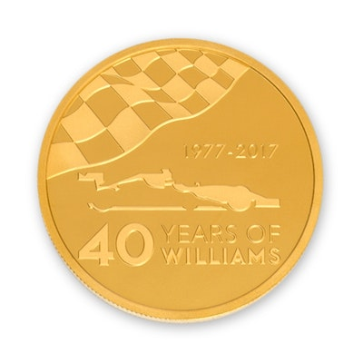 Williams 2.5-oz Gold Coin
