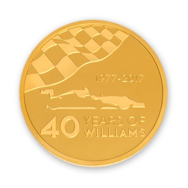 williams gold coin back